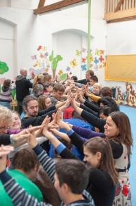 """""""Voneinander lernen"""" - Theaterworkshop der tschechischen Gastgeber"""